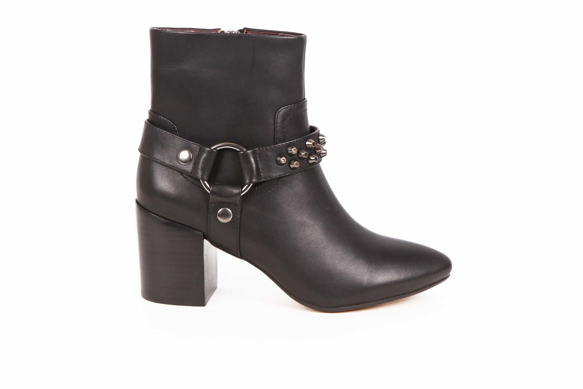 Moto Style: The Studded Bootie