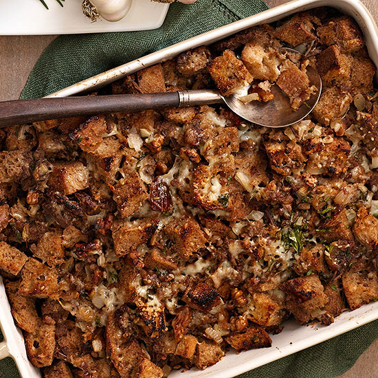 Sourdough, Date and Turkey Sausage Stuffing