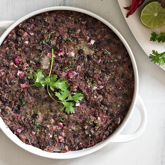Warm Black Bean Dip