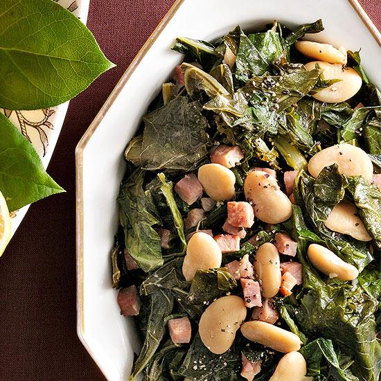 Collard Greens and Butter Beans