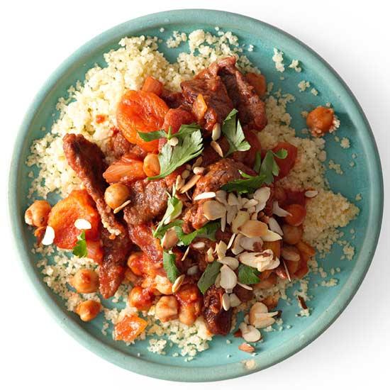 Moroccan Beef Stir-Fry