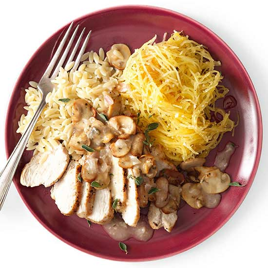 Chicken with Pan Sauce