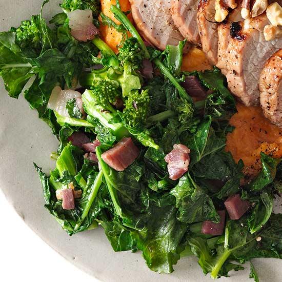 Broccoli Rabe with Prosciutto