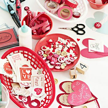 Homemade Valentine's Day Decorations and Recipes