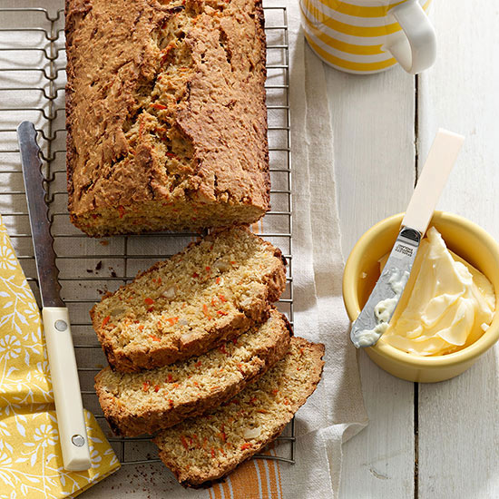 Carrot-Coconut Bread