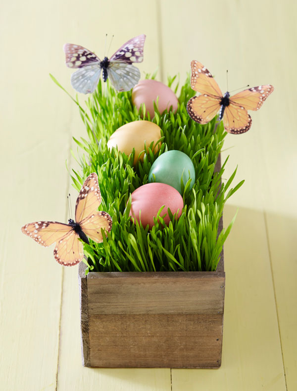 Easiest Easter Decor Ideas Ever