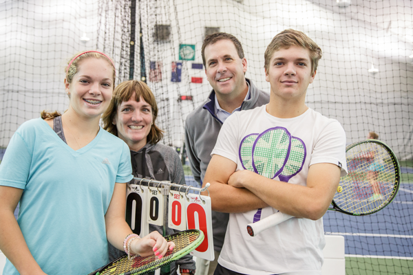 A Fit Family Connects Through Tennis