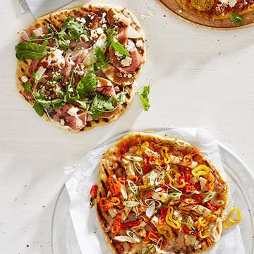 Easy as Pie: Grilled Pizza Recipes