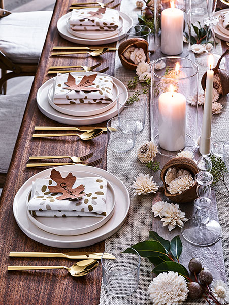 The Perfect Thanksgiving Table Setting