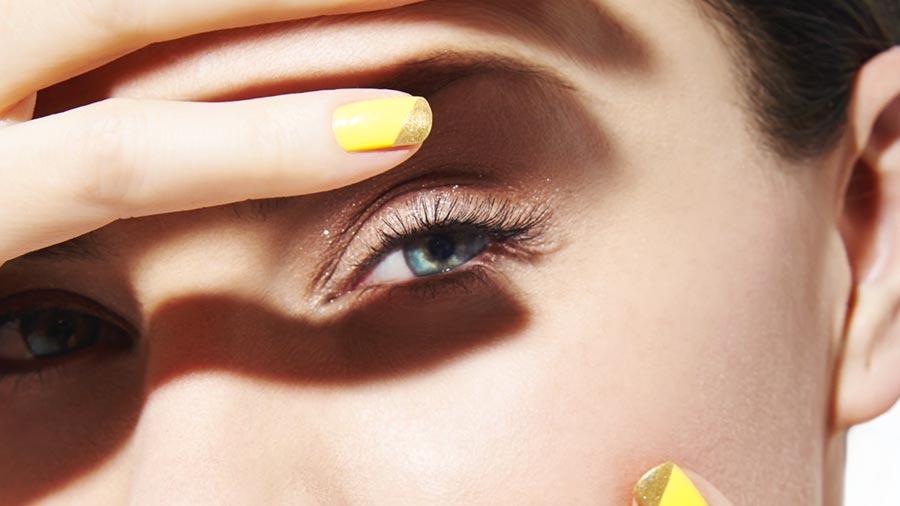 Beauty Insider: Chrome Color Block Nails