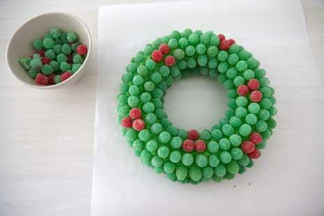 How To Make A Gumdrop Wreath