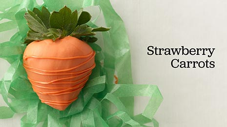 How to Make Dipped Strawberries  Carrots