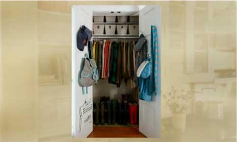 How To Organize the Hall Closet