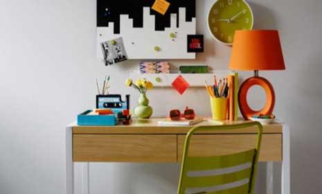 Colorful Homework Station