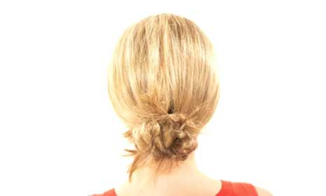 Help My Hair, Christo!: Twisted Chignon