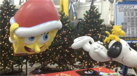 New Thanksgiving Marcy's Day Parade Floats