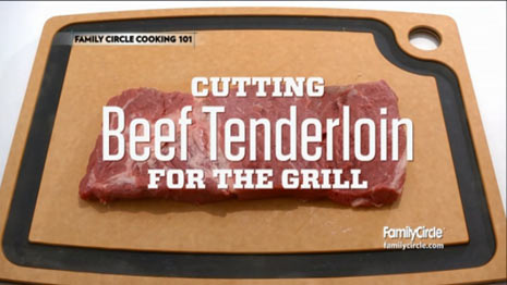 How to Cut Beef Tenderloin for the Grill