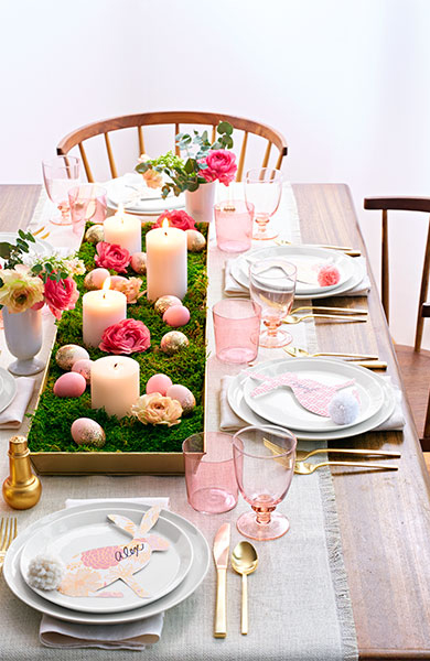 You Don't Have to Be Crafty to Create This Gorgeous Easter Centerpiece