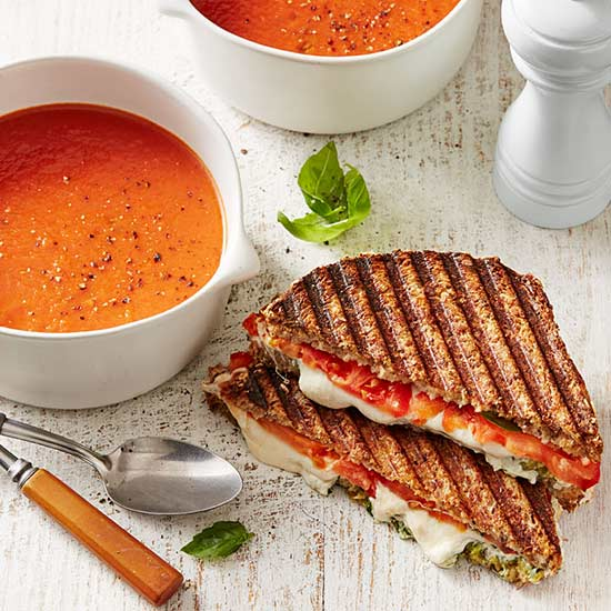 Grilled Cheese & Tomato Soup, Plus Other Healthy Meals