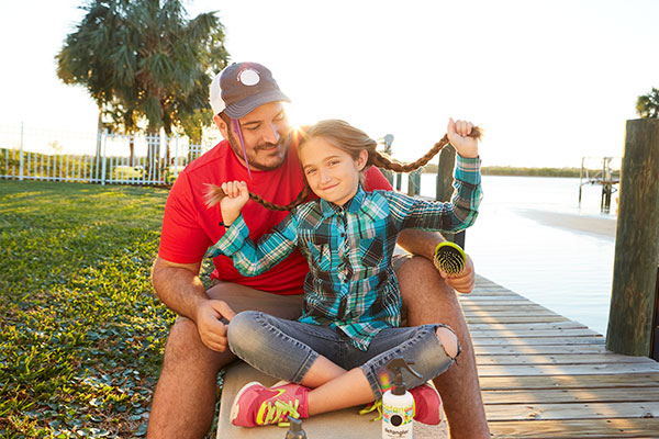 Local Hero: Father-Daughter Bonding, One Braid at a Time