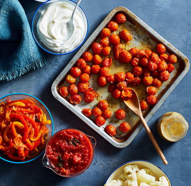 Chef Michael Psilakis Spins 7 Basic Recipes into Multiple Mediterranean Meals