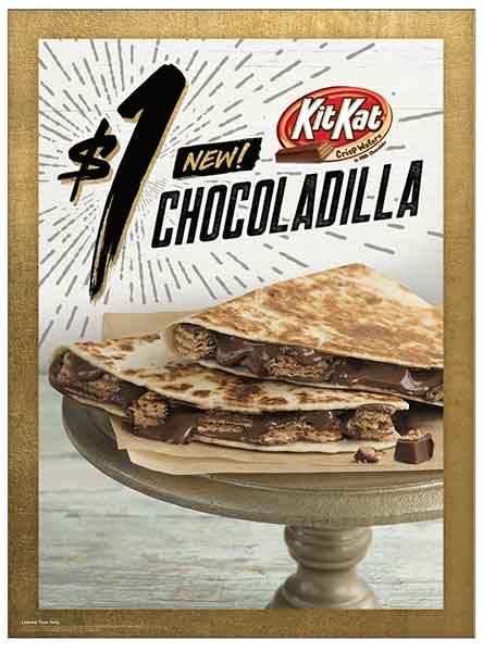 Taco Bell Is Testing a Kit Kat Quesadilla