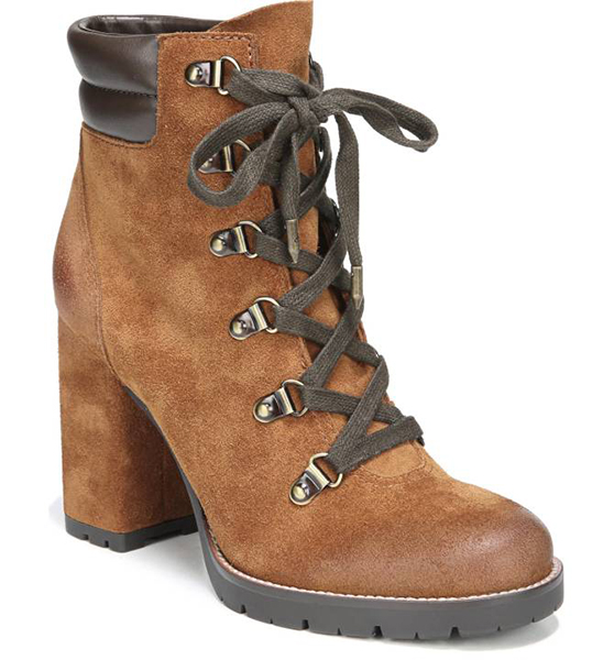 Combat Style: Carolena Lace-Up Boot