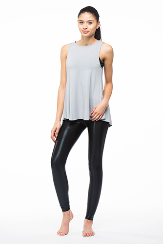 Mira Rae Laila Metallic Legging (Long Length)
