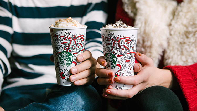 New Starbucks Holiday Drinks Released With Buy One, Get One Deal
