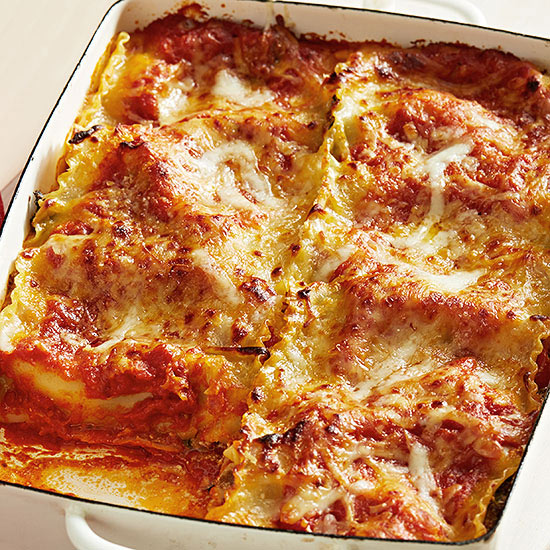 Lasagna Roll-Up Casserole