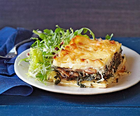 Swiss Chard and Mushroom Lasagna