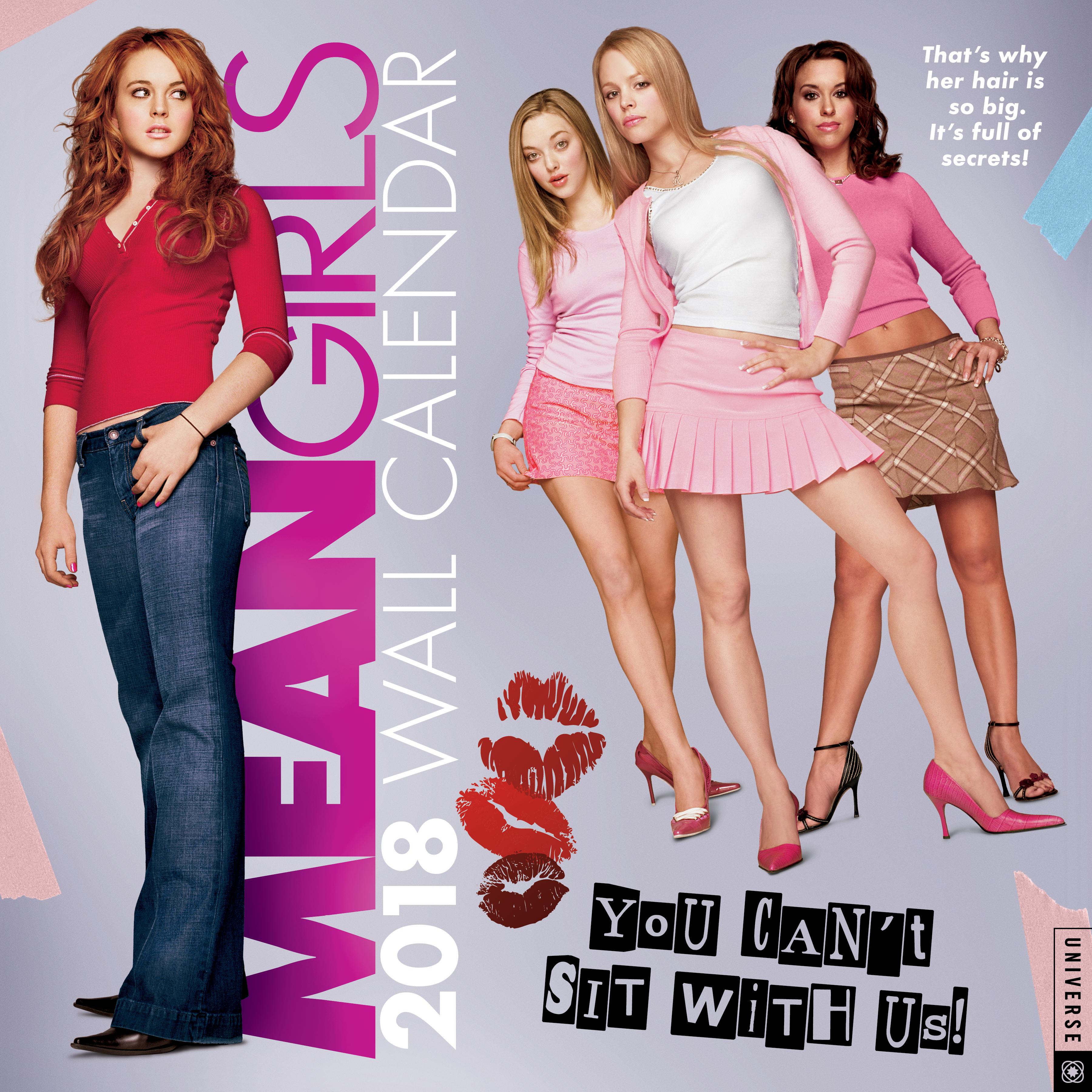 Mean Girls Wall Calendar