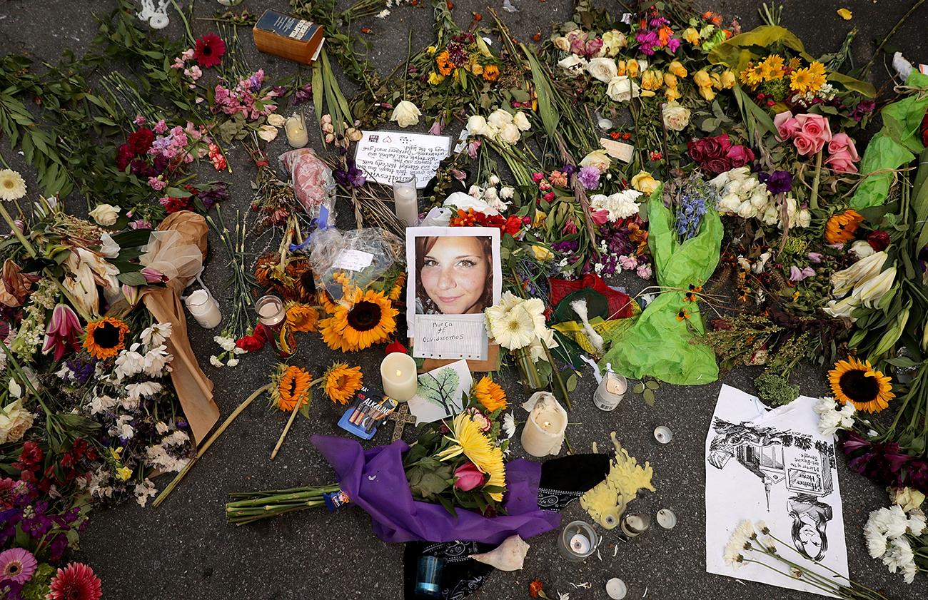 Charlottesville Memorial for Heather Heyer