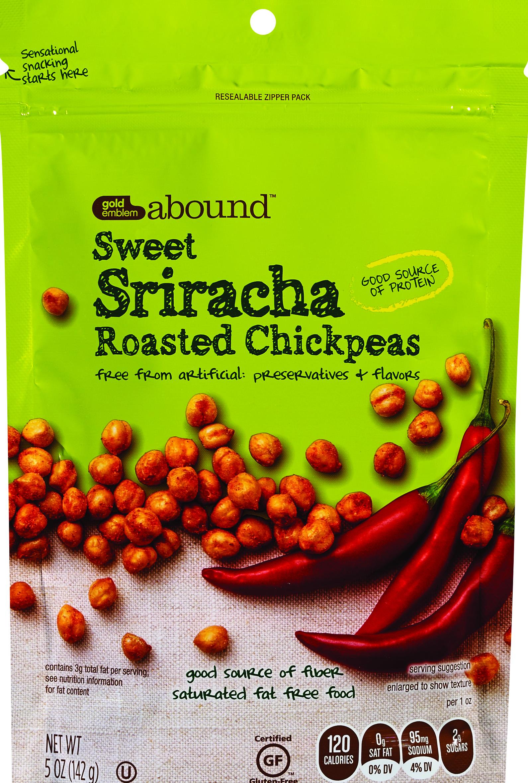 Gold Emblem Abound Sweet Sriracha Roasted Chickpeas