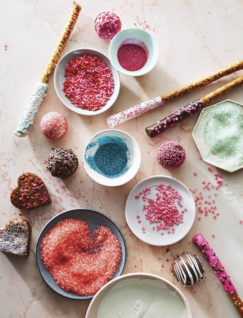 Sparkles for Dessert