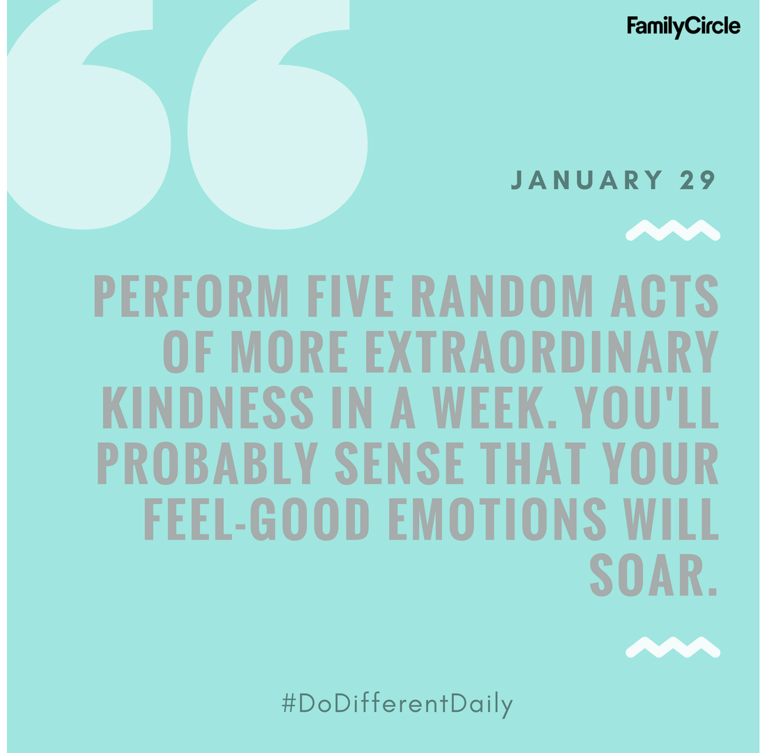 Do Different Daily 1/29