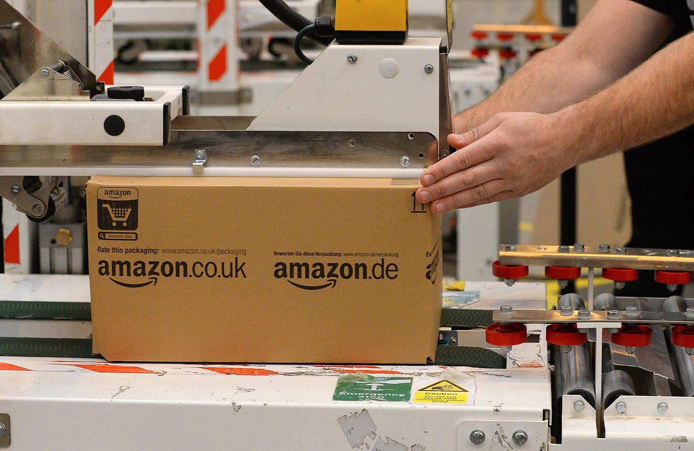 Amazon UK box