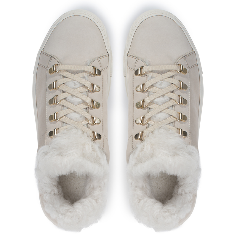 Shearling-Lined Sneakers