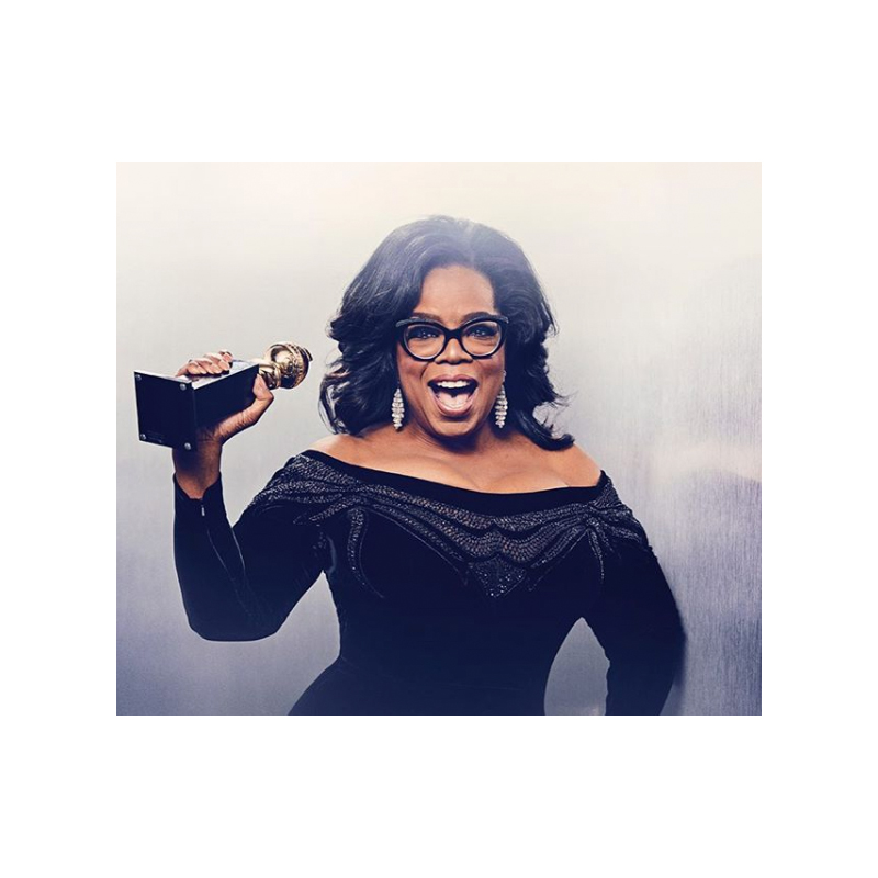 Oprah at the 2018 Golden Globes