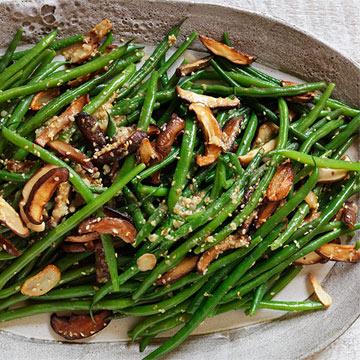 Miso-Sesame Green Beans