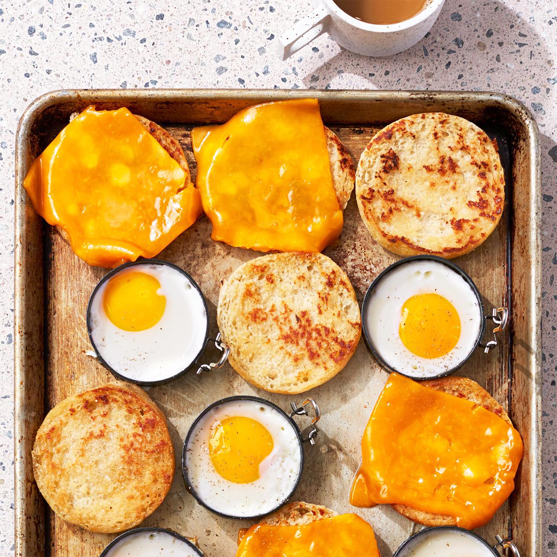 Sheet Pan Egg Sandwiches