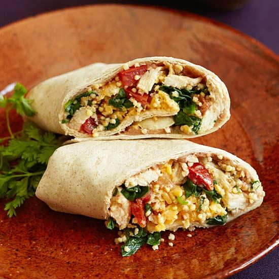 Chicken & Millet Burrito