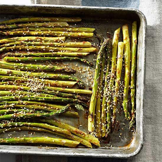 Miso-Roasted Asparagus
