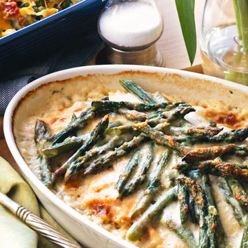 Salmon And Asparagus Casserole