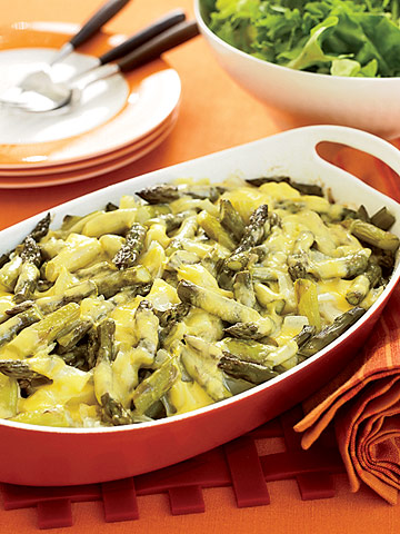 Potato-Asparagus Casserole