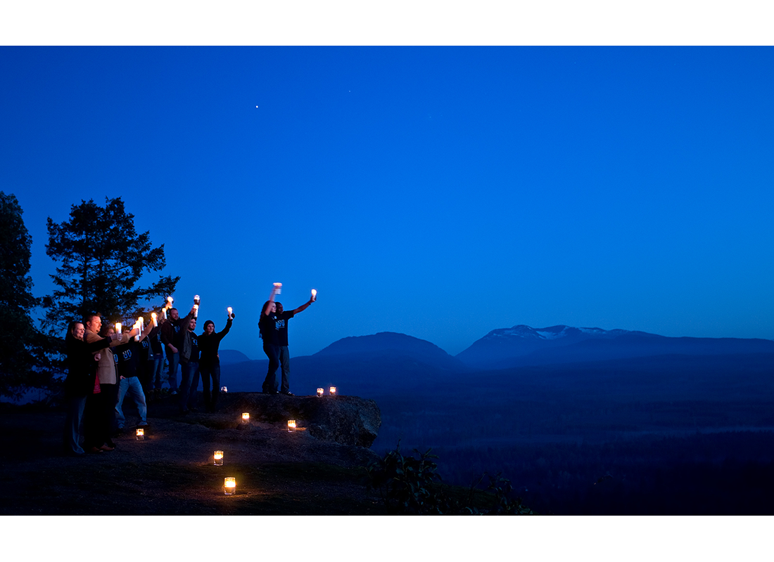 celebrating Earth Hour