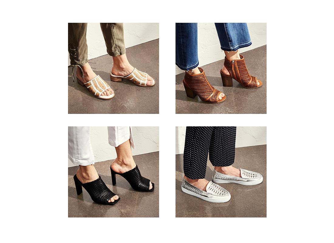 woven shoe trend