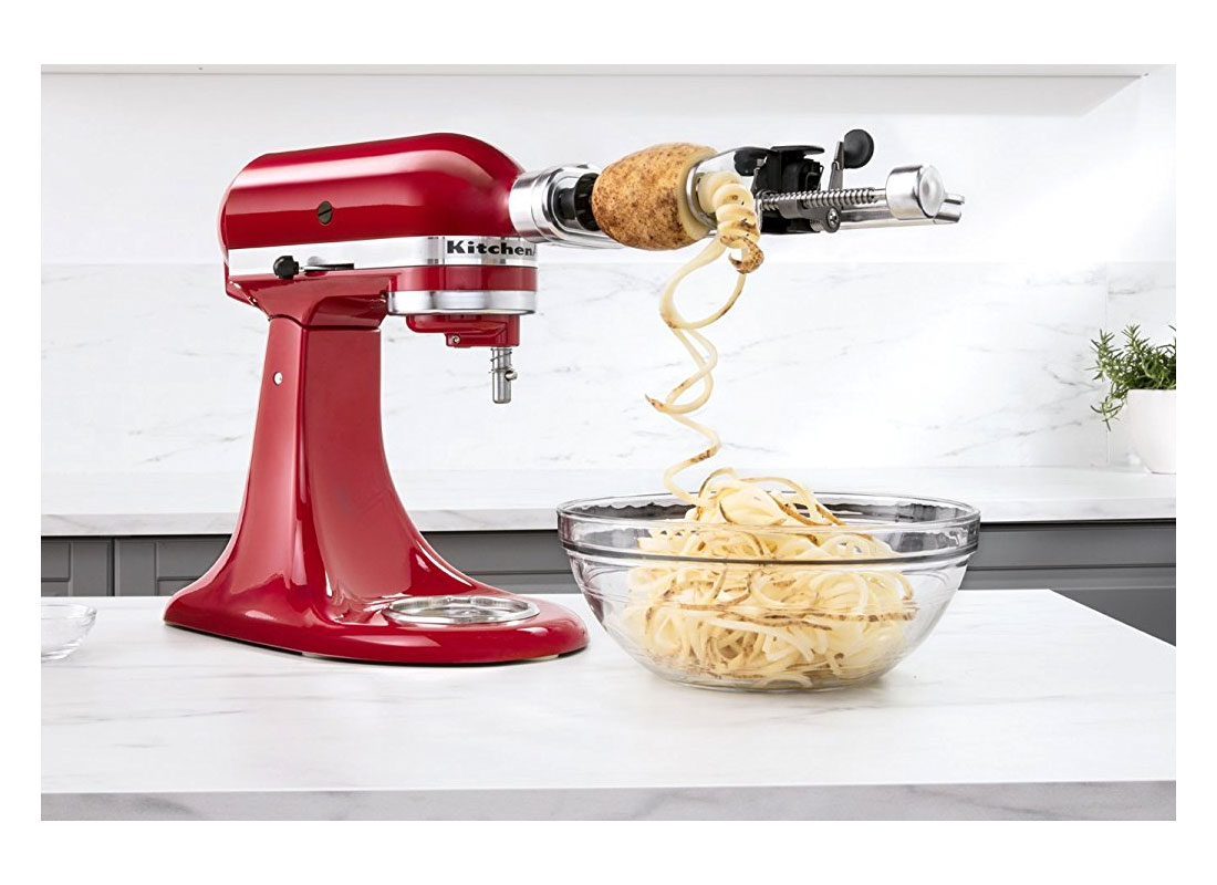 KitchenAid Stand Mixer spiralizer attachment
