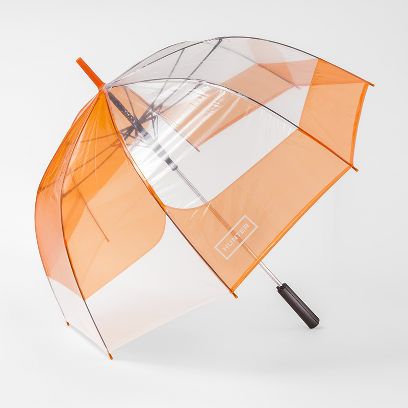 Hunter x Target orange umbrella