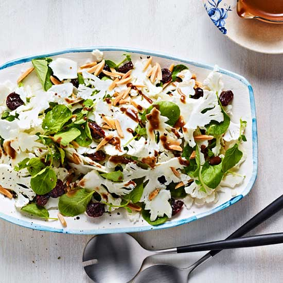 Cauliflower and Tart Cherry Salad